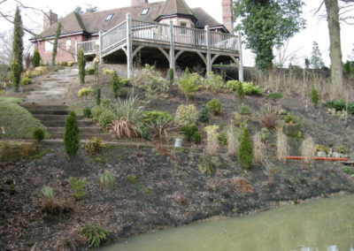 Example of a finished planting programme